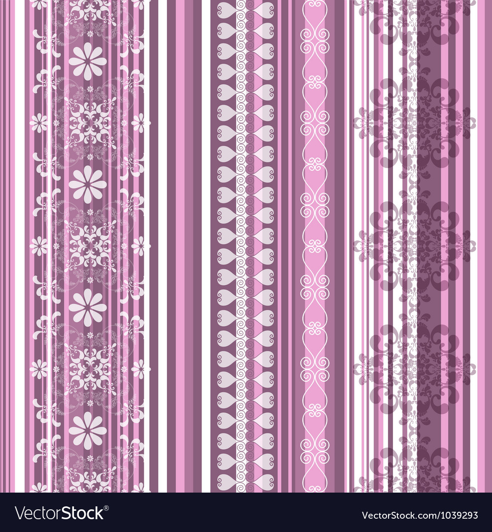 Translucent seamless striped pattern vector | Price: 1 Credit (USD $1)
