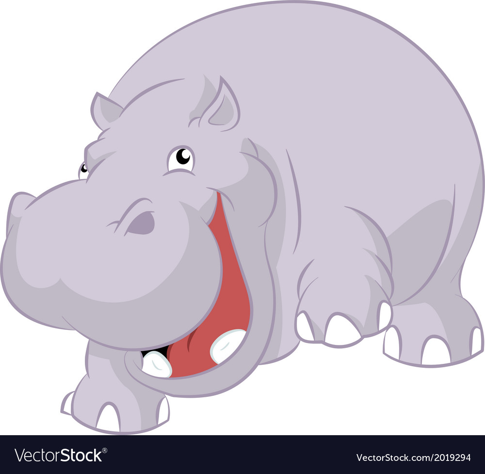 Hippopotamus vector | Price: 1 Credit (USD $1)