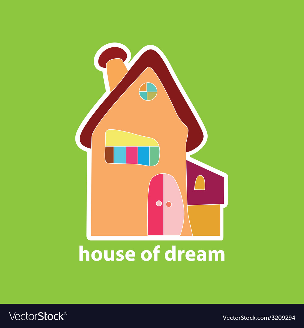 House of dream vector | Price: 1 Credit (USD $1)