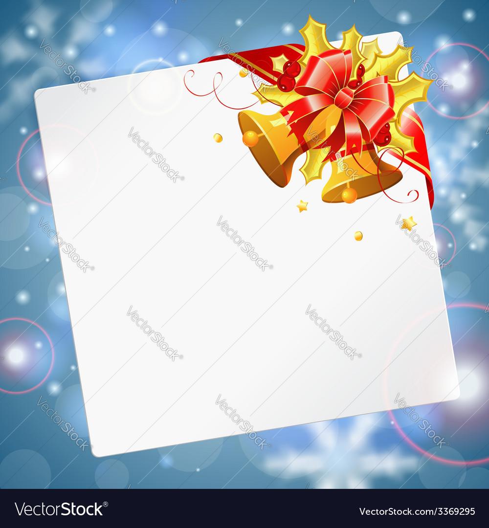 Christmas frame vector | Price: 3 Credit (USD $3)