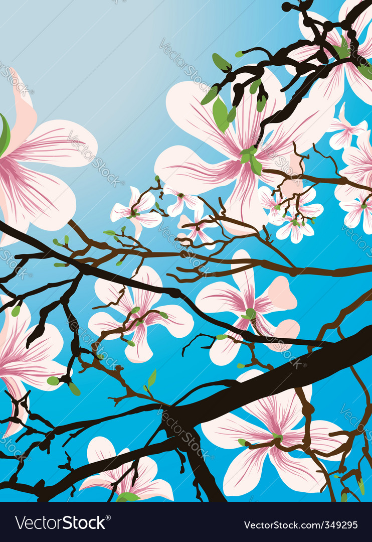 In bloom vector | Price: 3 Credit (USD $3)