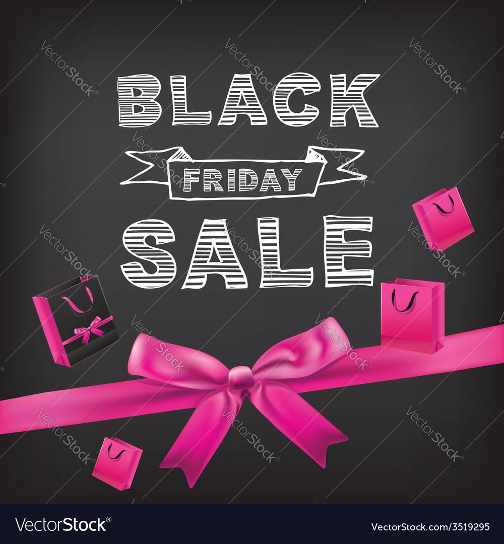 Poster sale black fridaytypography vector | Price: 1 Credit (USD $1)