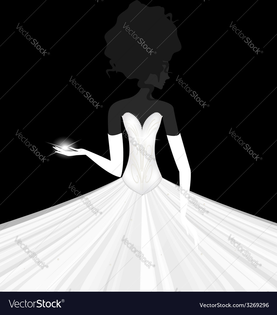Abstract bride vector | Price: 1 Credit (USD $1)