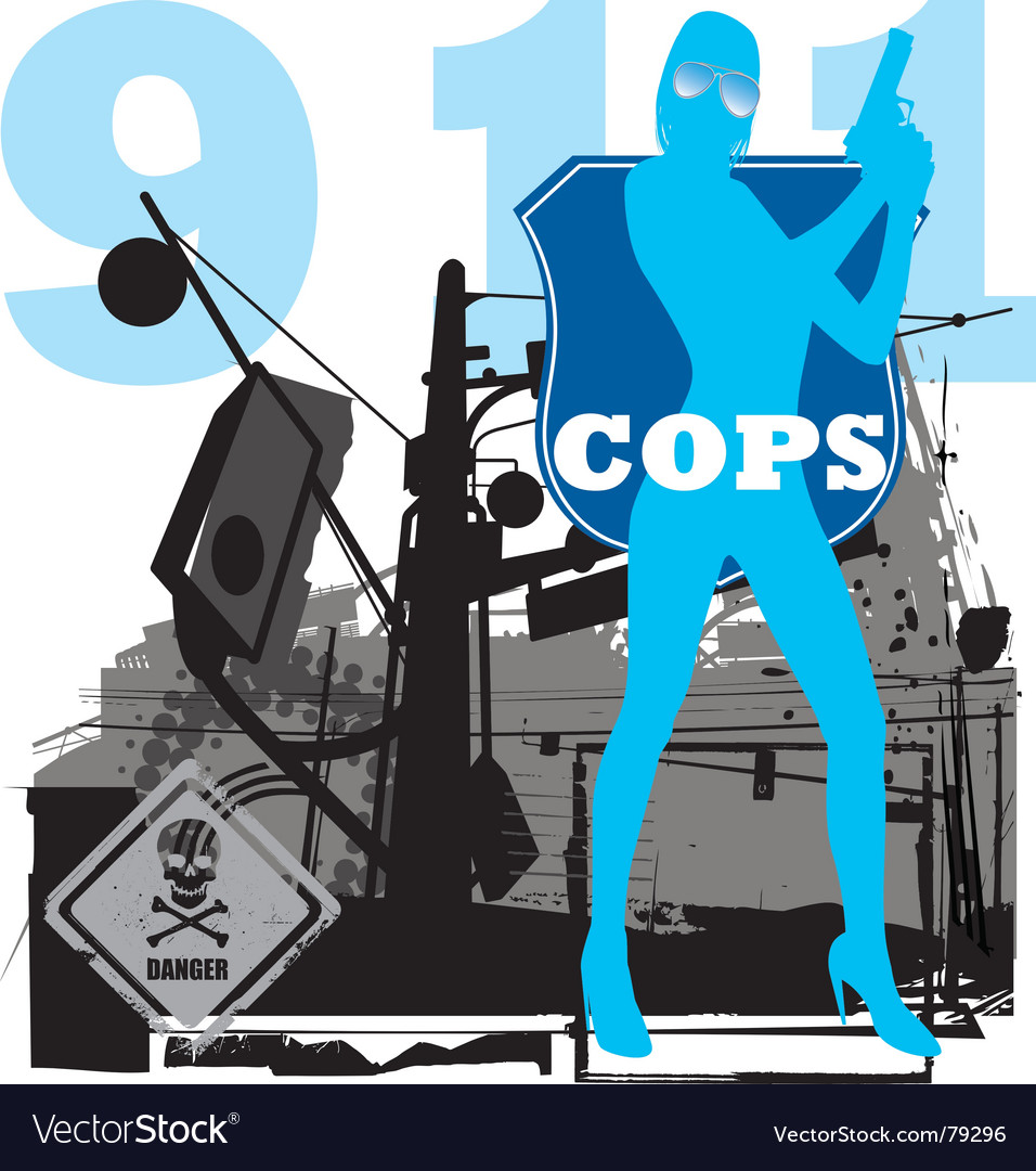 Cops vector | Price: 1 Credit (USD $1)