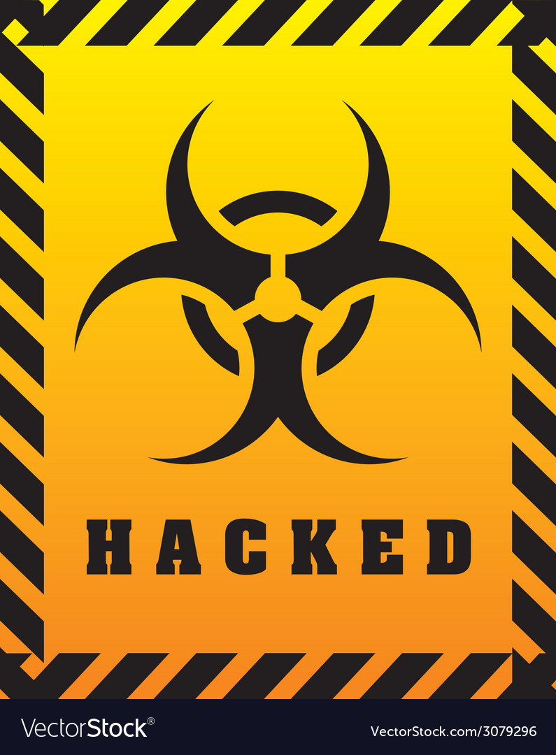 Hacked design vector | Price: 1 Credit (USD $1)