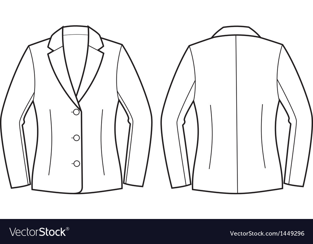 Jacket vector | Price: 1 Credit (USD $1)