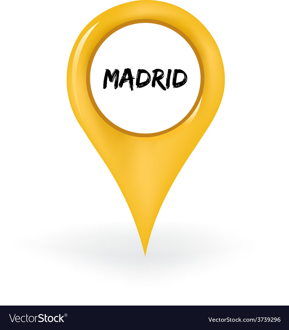 Location madrid vector | Price: 1 Credit (USD $1)