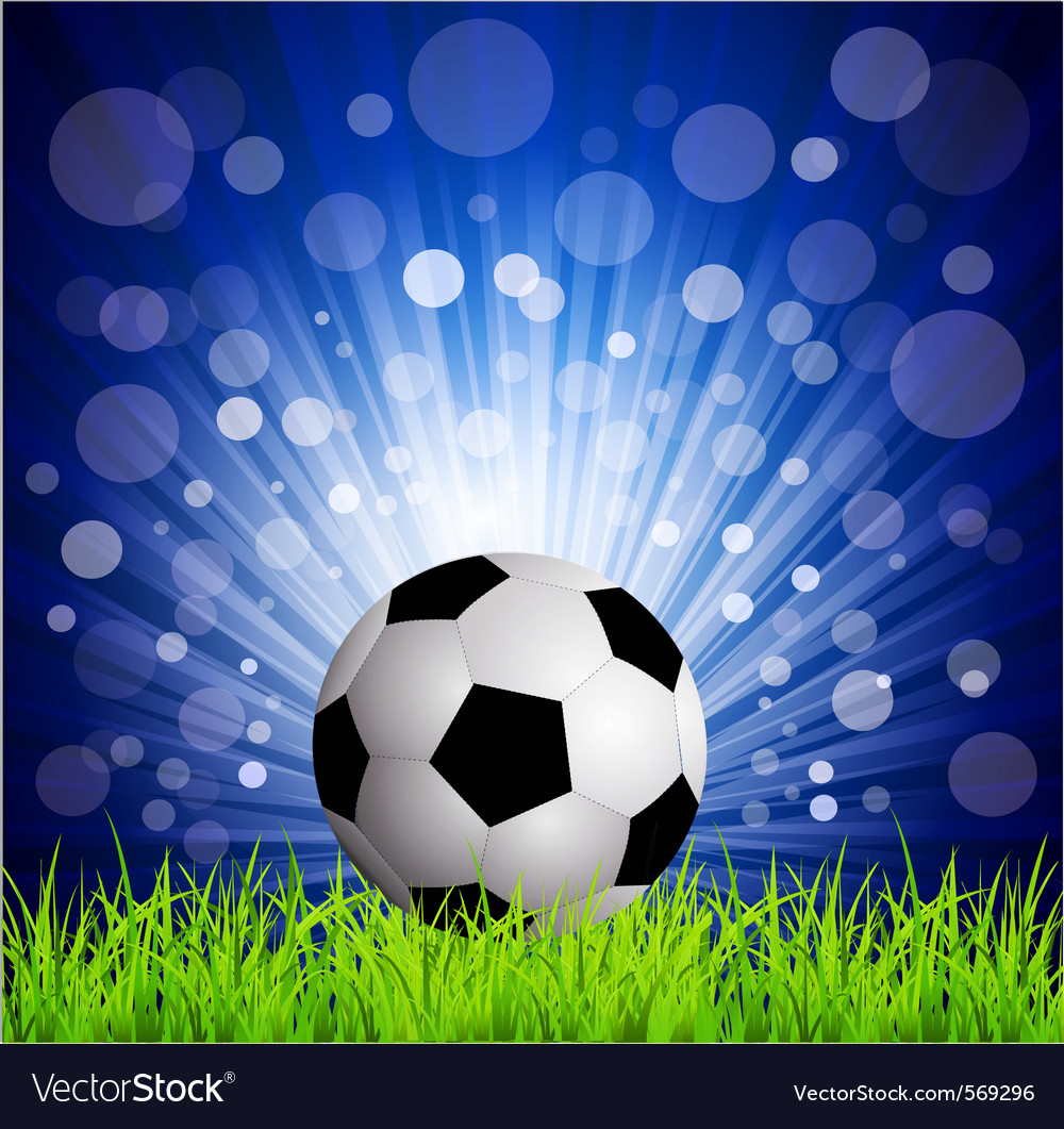 Soccer football vector | Price: 1 Credit (USD $1)