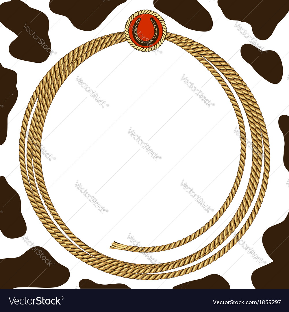 Cowboy party card background vector | Price: 1 Credit (USD $1)