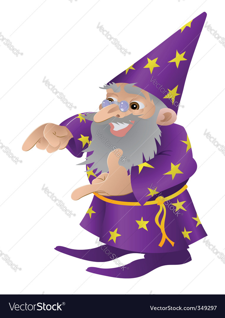 Wizard illustration vector | Price: 3 Credit (USD $3)
