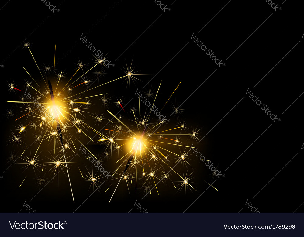 Sparklers vector | Price: 1 Credit (USD $1)