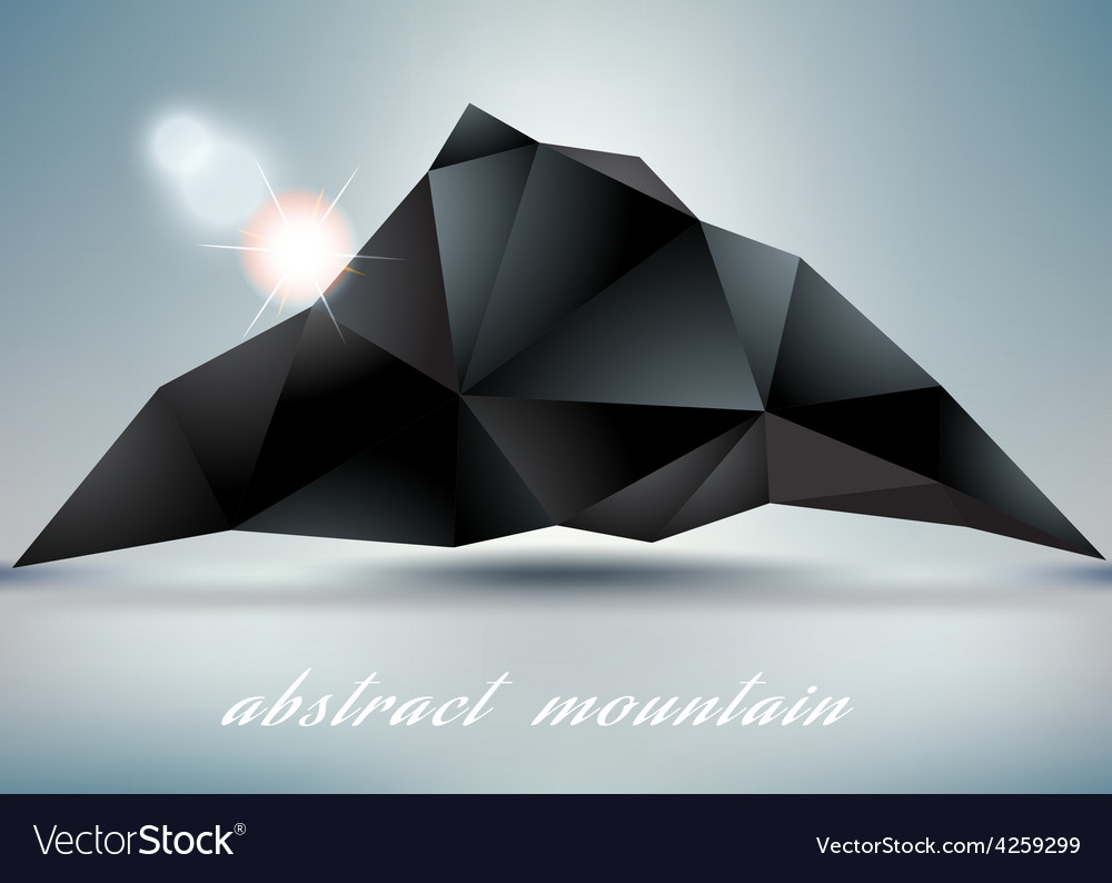 Abstract mountain backgrond with suneps 10 vector | Price: 1 Credit (USD $1)