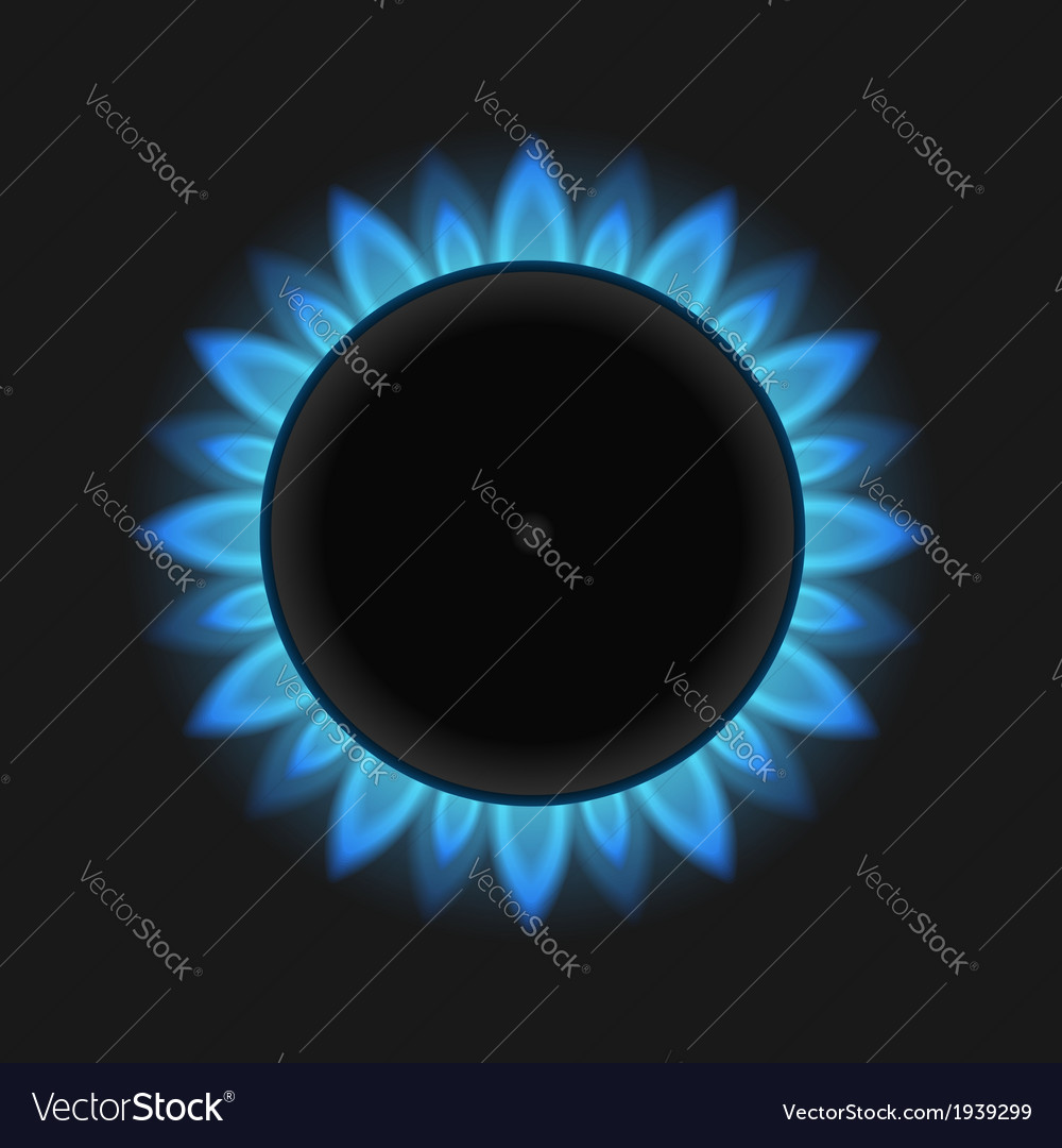 Gas flame vector | Price: 1 Credit (USD $1)