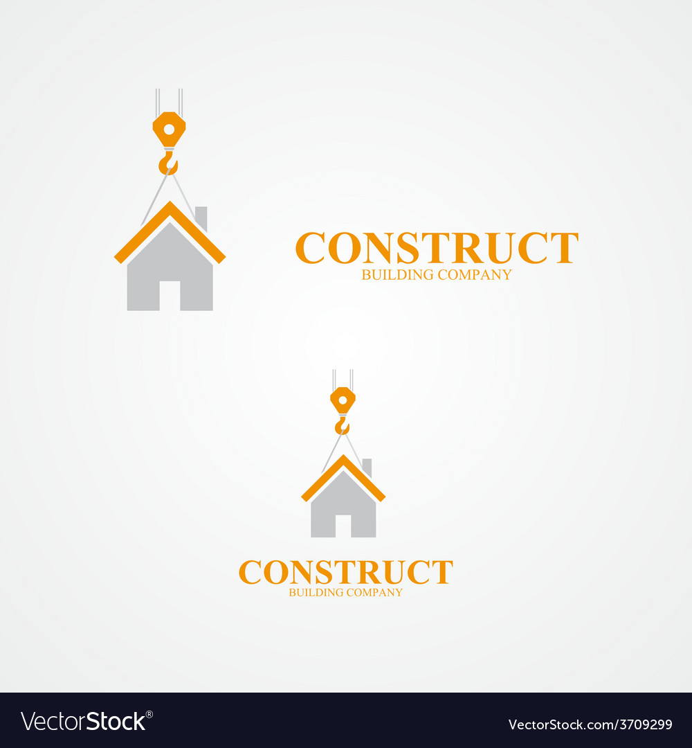 Logo for construction company vector | Price: 1 Credit (USD $1)