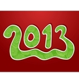 Christmas ornamental background 2013 vector
