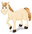 A smiling horse vector