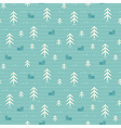 Seamless pattern of forest vector
