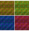 Abstract seamless plaid set vector