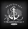 T-shirt print design nautical marine badge design vector