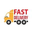 Fast delivery icon flat style vector