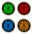 Four web icons vector