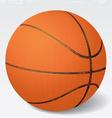Realistic basketball eps 8 vector