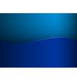 Background blue stripe wave one vector