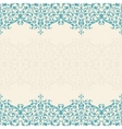 Abstract floral background seamless lace vector