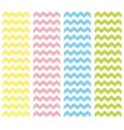 Zig zag pastel chevron tile pattern set vector
