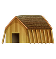 A vikings shelter vector