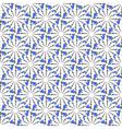 Design seamless decorative floral pattern vector