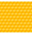 Yellow geometric seamless background vector