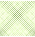 Geometric seamless pattern with cross lines vector