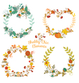 Autumn banners and tags vector