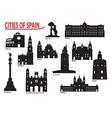 City of spain vector