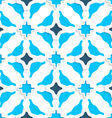 Wavy squares with light and dark blue seamless vector