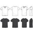 Blank t-shirt vector