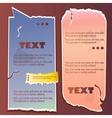 Paper bubble for speech vintage vector