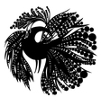 Bird silhouette vector