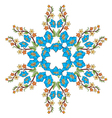 Ottoman motifs design series with forty eight vector