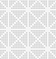 White dots perforated seamless vector