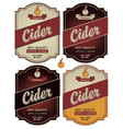 Apple cider vector