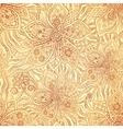 Mehndi ornamental flourish pattern vector