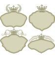 Frames with crown vector