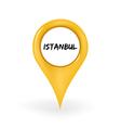 Location istanbul vector