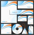 Letterhead template design vector