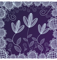 Floral pattern background vector