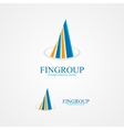 Logo for bank or real estate company vector
