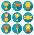 Award icons vector