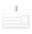 Identification card 01 vector